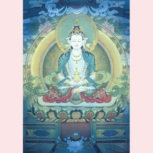 Postcard Pieter Weltevrede | Amithaba Buddha I