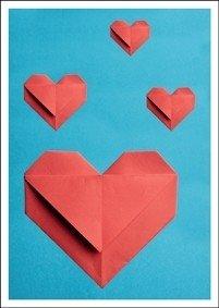Postcard Kiek | Paper Hearts