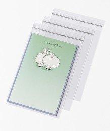 10 Postcard Bags | 130x185 mm