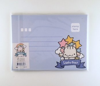 Happy Go Lucky envelopes set (10pcs)