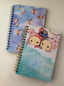 SPECIAL SET: San-X Sentimental Circus Ring Binder Notebook | Starlight Spica