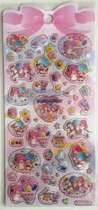 Sanrio Little Twin Stars Seal Sticker | Carrousel