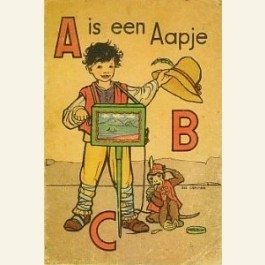 Postcard | A is voor Aapje