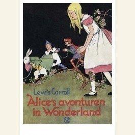 Postcard | Alice's avonturen in Wonderland