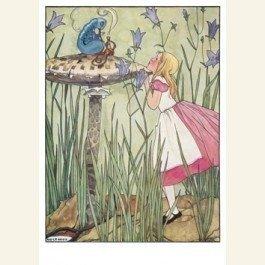 Postcard   Alice's avonturen in Wonderland