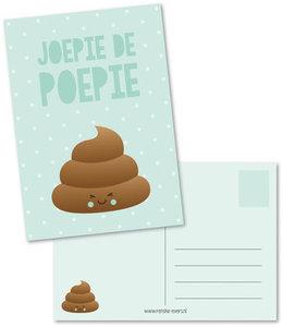 Postcard Renske Evers | Joepie de Poepie