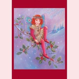 Postcard Fantasy Judy Mastrangelo | Holly fairy