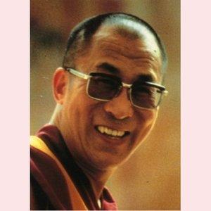 Postcard H.H.Tenzin Gyatso XIV, Dalai Lama of Tibet