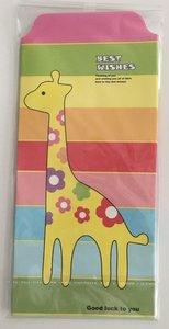Cute Kawaii Envelopes   Giraf