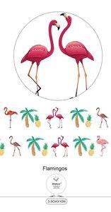 Wide Washi Masking Tape | Flamingo
