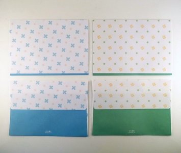Envelopes Set (2 designs)   Flowers and Clovers