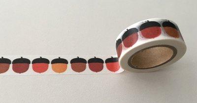 Autumn Washi Masking Tape | Acorns