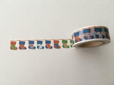 Christmas Washi Masking Tape | Christmas Stockings