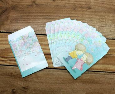 Amy and Tim Mini Gift Envelopes Set