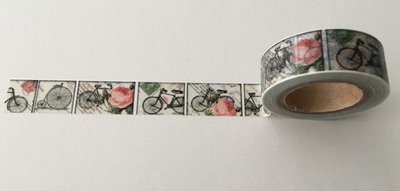 Washi Masking Tape | Bicycle