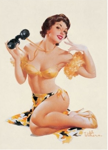 Postcard Pin Up | binocular