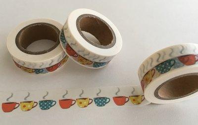 Washi Masking Tape   Hot Cups