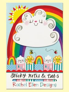 Rachel Ellen Designs Sticky Notes and Tabs | Suns Birds and Rainbows
