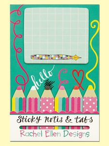 Rachel Ellen Designs Sticky Notes and Tabs | Pencils