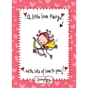 Juicy Lucy Designs Enamel Pin | Love Fairy Pin