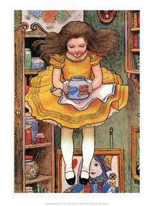 Postcard Alice in Wonderland | Marmelade Jar