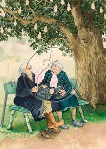 Inge Look Nr. 01 Postcards   Old Ladies Aunties