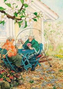 Inge Look Nr. 04 Postcard | Old Ladies Aunties