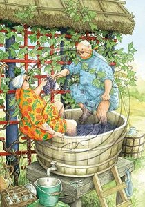 Inge Look Nr. 49 Postcard | Old Ladies Aunties