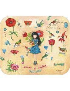 TV Art Postcard Mila   Love & Nature
