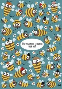 Lali Postcard | Zoekopdracht Wie verzamelt er honing voor jou?