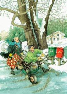 Inge Look Nr 37 Postcard | Old Ladies Aunties