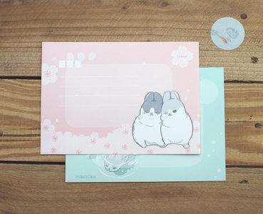 Envelopes Machiko Bunny (2 designs)