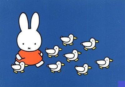 Nijntje Miffy Postcards | Nijntje met eenden