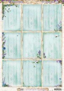 ATC Backgrounds / Pocketletter Cards Studio Light | la Provence
