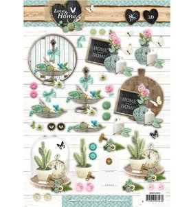 A4 Die cut sheet Studio Light | Love & Home