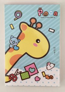 Medium Memopad | Poca Giraffe