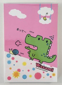 Medium Memopad   Wasami Crocodile