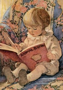Postcard | The Animal Book, 1925