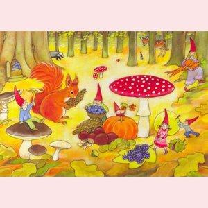 Postcard Geertje van der Zijpp   Autumn
