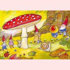 Postcard Geertje van der Zijpp | Gnomes