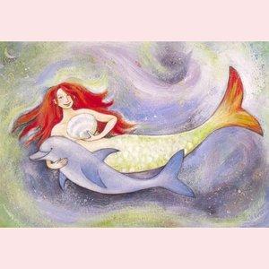 Postcard Geertje van der Zijpp | Sea Friends Mermaid