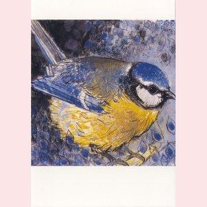 Postcard Loes Botman | Blue Tit