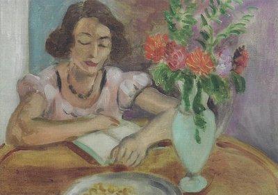 Museum Cards Postcard | Lezende vrouw, Henri Matisse