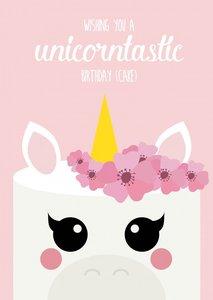Postcard Studio Inktvis | Unicorntastic
