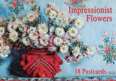 Tushita Postcard Book | Impressionist Flowers