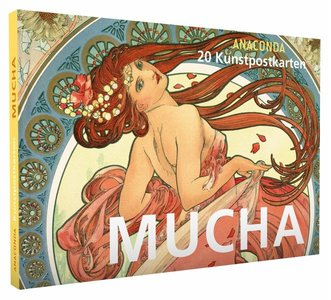 Anaconda Art Postcard Book | Mucha