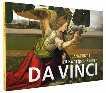 Anaconda Art Postcard Book | Da Vinci
