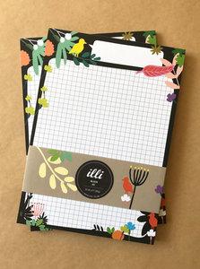 A5 Letter Paper Pad Illi | Luna