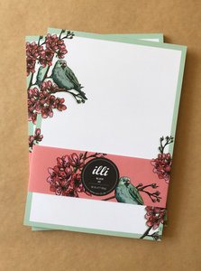 A5 Letter Paper Pad Illi | Pauline