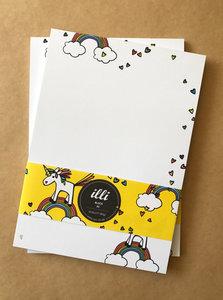 A5 Letter Paper Pad Illi | Tiffi